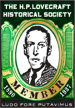 H.P. Lovecraft Historical Society Member Badge
